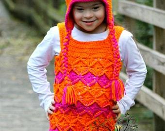 PATTERN -Radical Pony Crochet Hat Pattern PDF FIle