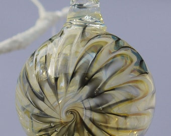 Starburst Bauble - Welsh Hanging Ornament - Glass Bauble - Lampwork Decoration - Flamework Ornament