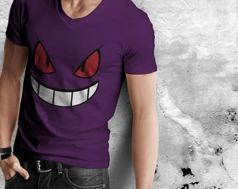 Pokémon Gengar Purple Shirt