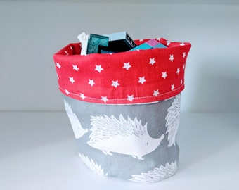 Fabric Storage Bin / Fabric Basket /Storage Bin /Toy Storage Bin /Fabric Storage /Toy Storage /Bathroom Storage /Nursery Storage /Fabric Bin