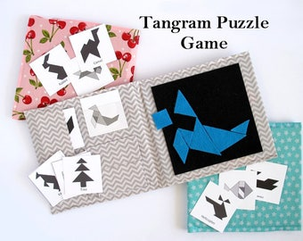 Tangram Puzzle Game - Sewing Pattern