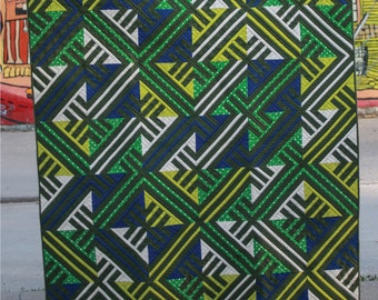 Pacific Coast Highway Quilt Pattern