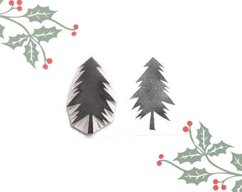 Christmas Pine Tree Stamp | 001001