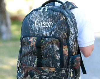 Monogrammed Backpack , Personalized Backpack,Camouflage Backpack