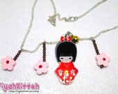 Necklace *Japanese Spring...