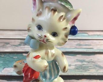 Vintage en céramique très Kitty Cat