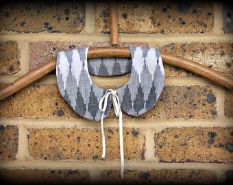 Detachable Peter Pan collar, Indian cotton fabric