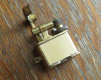 Vintage Golden Wheel Lighter Charm-free shipping USA