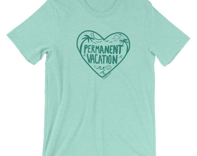 Permanent Vacation Mint Tee