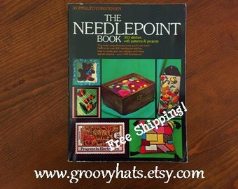 The Needlepoint Book 1986 Publication of 1976 Softcover Edition - Free Shipping!