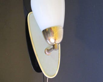 French vintage 1950s sconce