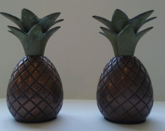 Pineapple Candle Holders Pineapple Decor