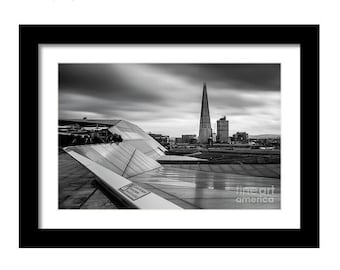 Print / Canvas of The Shard in London britain british landscape architecture city xmas present christmas england gift travel photography uk