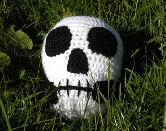 Amigurumi Halloween Big Skull Pattern