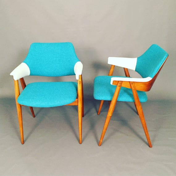 Pair of Mid-century Scandinavian lounge chairs