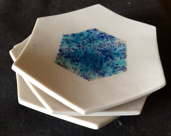 Small hexagon plate