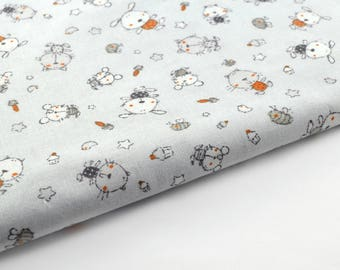 Fat quarter cotton animal print 145 x 90 cm