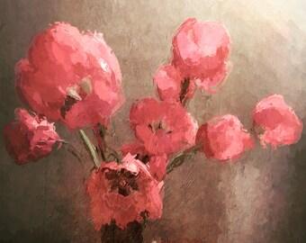 Tulip Still Life - 5x5 Fine Art Photograph