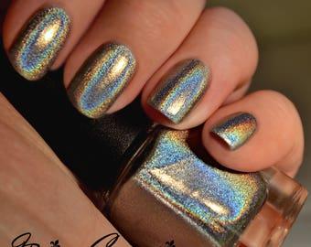 Hometown Halo - Pure Holographic Nail Polish, Linear Holographic, Mega Holo nail polish