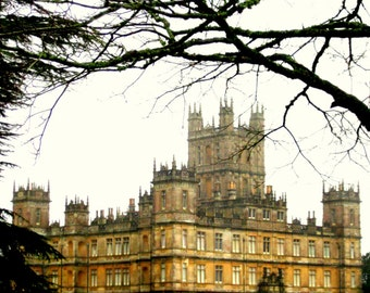 Downton Abbey TV Show Photo Wall Art. Masterpiece Theater. Home Decor. Gift. Wall Decor. Highclere Castle England. Countryside. British.