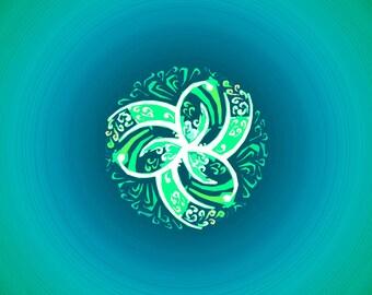 Third magical emerald ring