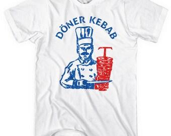 Doner Kebab T-shirt - Men and Unisex - Döner Kebap - XS S M L XL 2x 3x 4x - Tee - 3 Colors