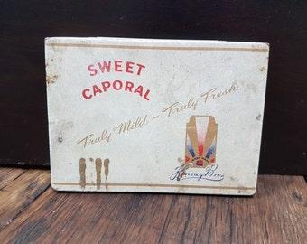 sweet caporal tin