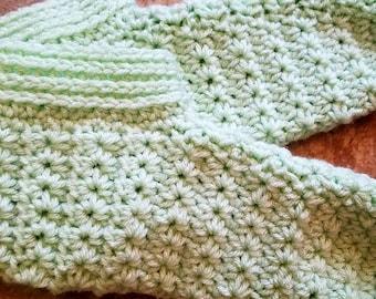 Mint Green Slippers
