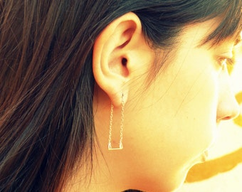 Swing Earrings-sterling silver