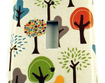Switchplate  Wall Decor Light Switch Cover  in Grateful Tree Farm  (118S)