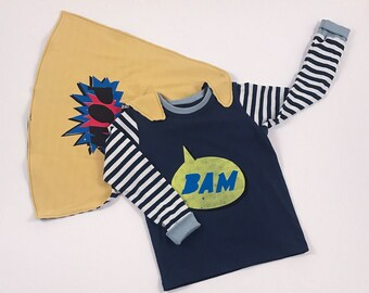 trendy kids clothes, kids clothes, big brother shirt, big brother, superhero cape, shirt with sayings, kids cape, organic knit fabric