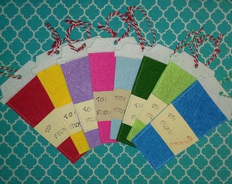 Felt gift card holders, gift tags or ornaments - great for gift cards, cash, tickets. Felt gift tags