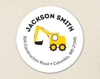 Construction Address Labels - Sheet of 24
