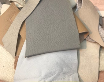 500g beige Leather pieces,scraps remnants, offcuts,scrap,fabric genuine leather pieces,mixed sizes,craft,leatherwork,leathercraft,off cuts