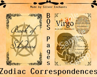 BOS Pages - Zodiac: Virgo