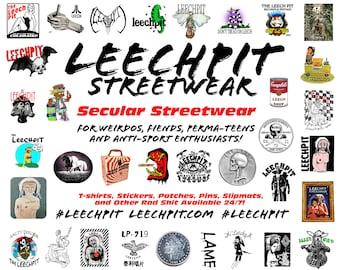 Leechpit Baby Slaps Tiny Sticker Sheet