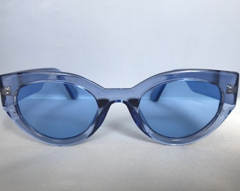 Thick Chunky Vintage Cateye Sunglasses