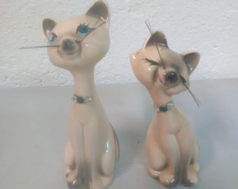 Vintage Cat Salt and Pepper Shakers *****1950-1960's****