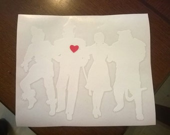 Wizard of Oz inspired Car Decal