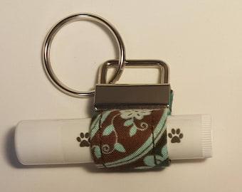 Key Chain Chap Stick/Lip Balm Holder