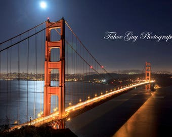 Photograph: Golden Gate Bridge, San Francisco, California (5200 x 3400)