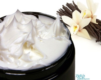 French Vanilla Body Butter Handmade with Sweet Almond Oil