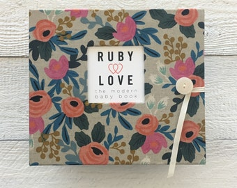 Rifle Paper Co. Rosa Floral Natural | BABY BOOK