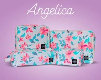 Floral Packing Cubes Set of 4
