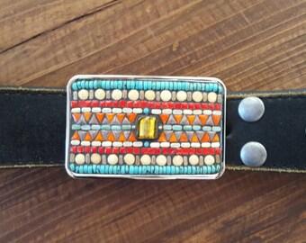 Mosaic Belt Buckle