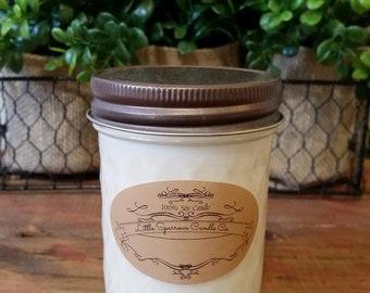 Lemon Verbena Soy Candle-8oz-12oz