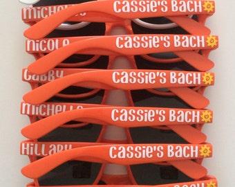 Bachelorette Sunglasses, Bachelorette Party, Bachelorette Favors, Bachelor Party, Wedding Sunglasses, Bridesmaid Gift, Custom Sunglasses