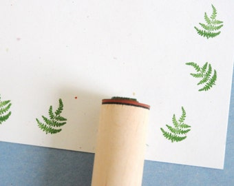 Whispy Fern Solid Rubber Stamp