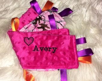 Mini tag blanket - Design your own!