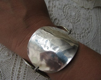 Cuff Style Spoon Bracelet Made From Vintage Tablespoons
